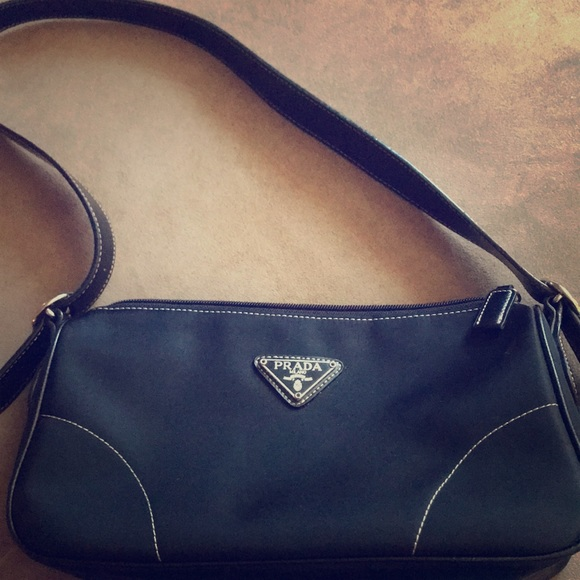 Prada Bags   Small Black Nylon Handbag   Poshmark a485a9ff83